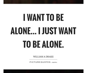 alone and nobody image