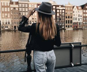 travel and girl image