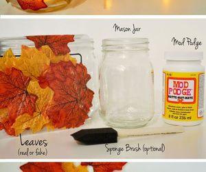 diy, fall, and autumn image