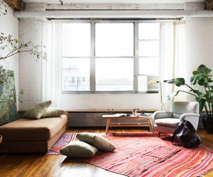 bohemian, chic, and cozy image