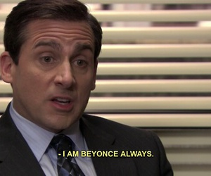 beyoncé, the office, and quotes image