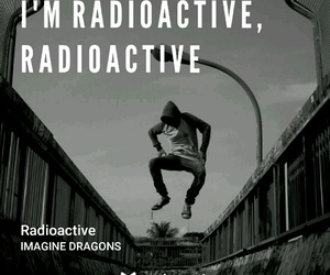music, radioactive, and imagine dragons image
