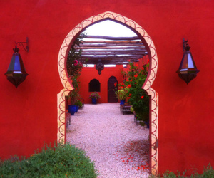 architecture, red, and travel image