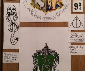 albus dumbledore, harry potter, and hogwarts image