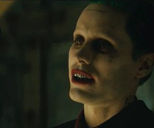 jared leto, the joker, and suicide squad image