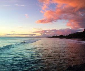 sky, nature, and beach image