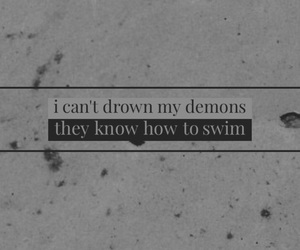bring me the horizon, demon, and grey image