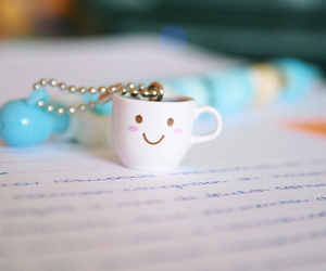 cute, smile, and cup image