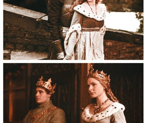 couple, Queen, and max irons image