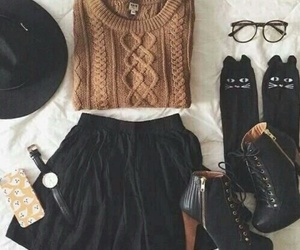 fashion, pull, and tenue image