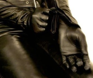 gloves and man image