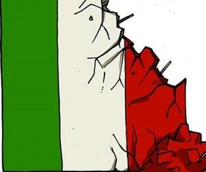 earthquake, italy, and italia image