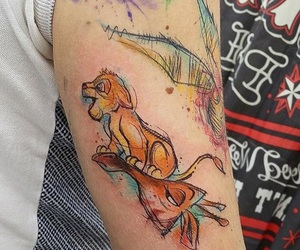the lion king tattoo image