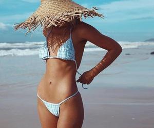 beach, bikini, and cool image