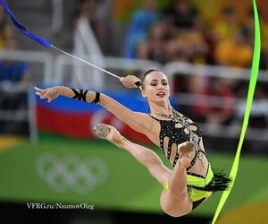 ribbon, rhytmic gymnastic, and rio 2016 image