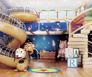 bedroom, toy story, and disney image