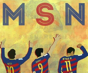 msn, messi, and neymar image