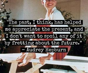 quotes, audrey hepburn, and future image