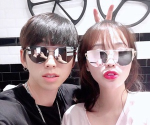 asian, style, and couple image