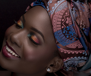africa, noire, and smile image