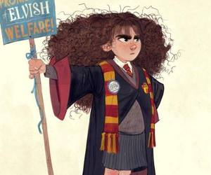 harry potter, hermione granger, and potter image