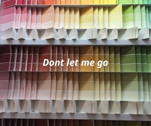 don't leave me and love image