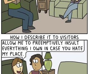 comic, home, and insecurities image