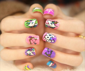 harajaku, nail art, and japan makeup image