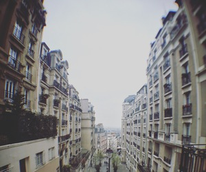 montmartre, view, and stairs image