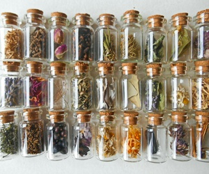 herbs, witchcraft, and magic image