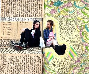doodle, mars argo, and titanic sinclair image