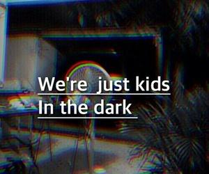 dark, kids, and grunge image