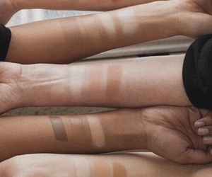 aesthetic, brown, and skin image