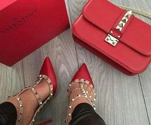 bags, Valentino, and chic image