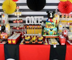 baby boy, birthday, and cake image
