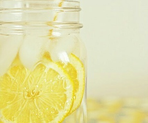 yellow, lemon, and drink image