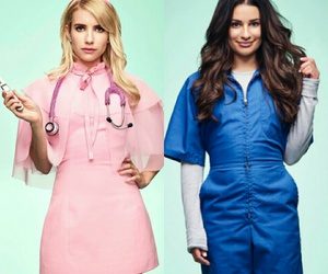 scream queens, chanel oberlin, and hester ulrich image