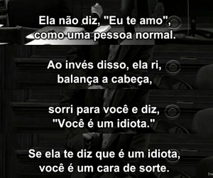 black & white, brazilian quotes, and girl image