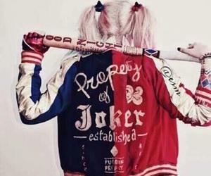 geek, harley quinn, and the joker image