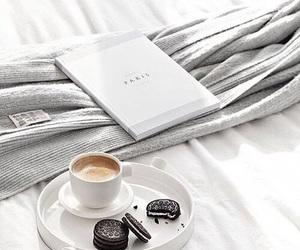 coffee, oreo, and morning image