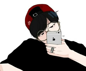 bts, jimin, and fanart image