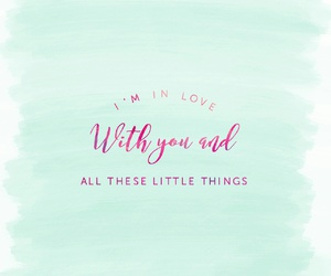 little things, one direction, and quotes+about+love image