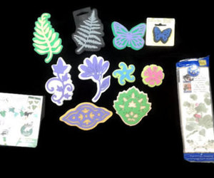 etsy, butterfly stamp, and scrapbook stamps image