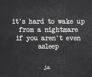 nightmare and quote image