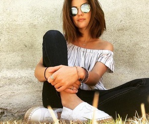 fashion, short hair, and lucy hale image