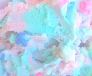 pastel, blue, and ice cream image