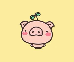 animal, pig, and pink image