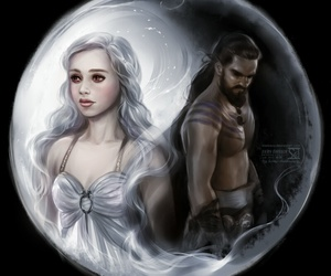 game of thrones, khaleesi, and khal image