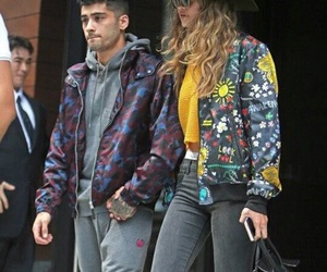 zayn, zigi, and gigi hadid image
