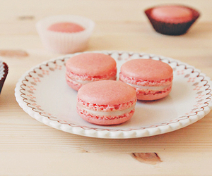 pink, cute, and food image